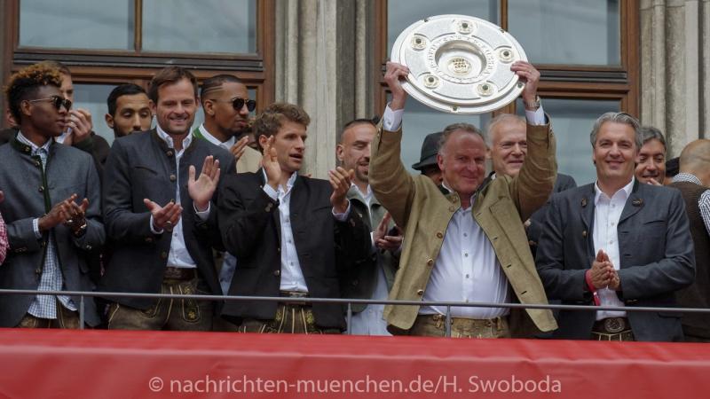 FC Bayern Meisterfeier 2016