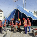 Roncalli - Bahnankunft & Zeltaufbau 0400