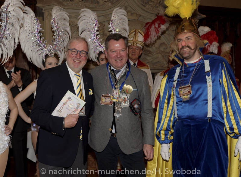 Begruessung Muenchner Faschingsprinzenpaare 0270