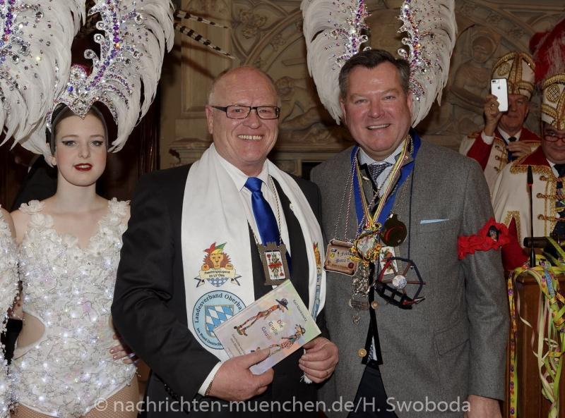 Begruessung Muenchner Faschingsprinzenpaare 0320