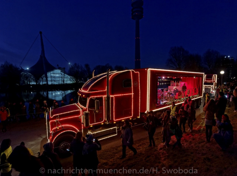 Coca-Cola Weihnachtsparade 0080