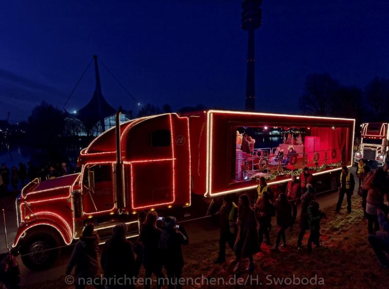 Coca-Cola Weihnachtsparade 0090