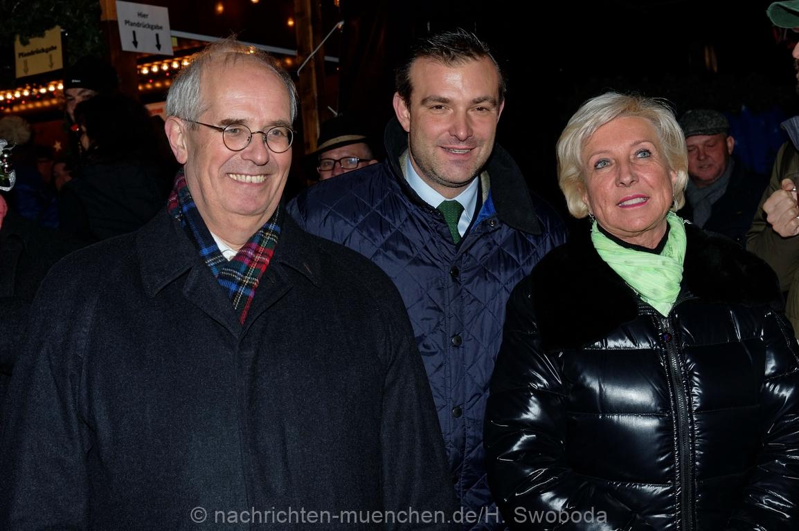 Eröffnung Christkindlmarkt am Sendlinger Tor