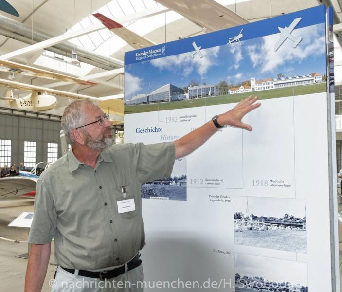 25 Jahre Flugwerft Schleissheim - Presserundgang 0240