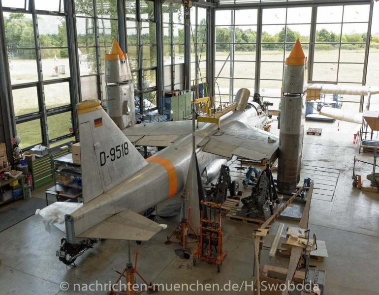 25 Jahre Flugwerft Schleissheim - Presserundgang 0320