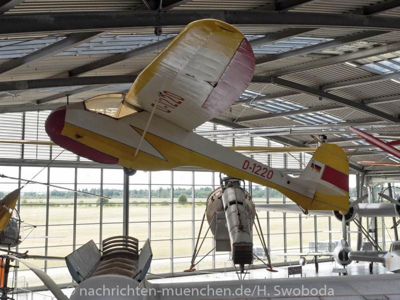 25 Jahre Flugwerft Schleissheim - Presserundgang 0400