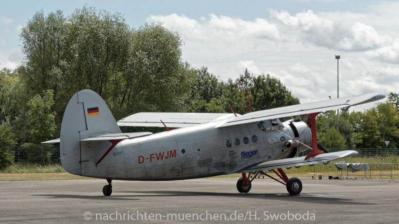 25 Jahre Flugwerft Schleissheim - Rundflug 0010