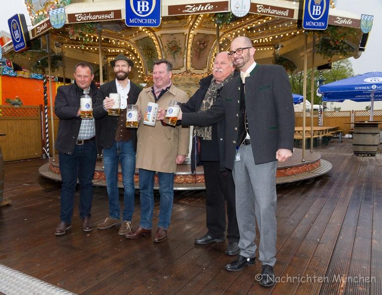 Frühlingsfest München 2017 Pressetermin