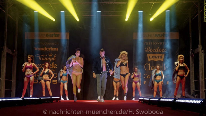 Modenschau Kaufhof 0680