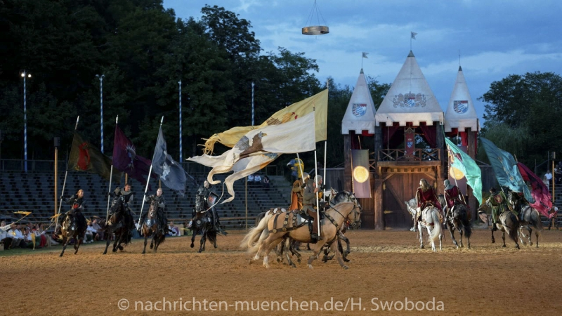 Kaltenberger Ritterspiele - Generalprobe 0730