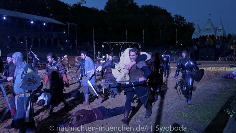 Kaltenberger Ritterspiele - Generalprobe 1030