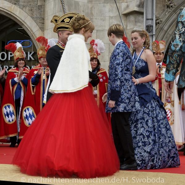Inthronisation des Narrhalla Prinzenpaares 2016