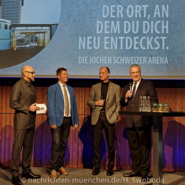 Jochen Schweizer Arena - Pressetag 0170
