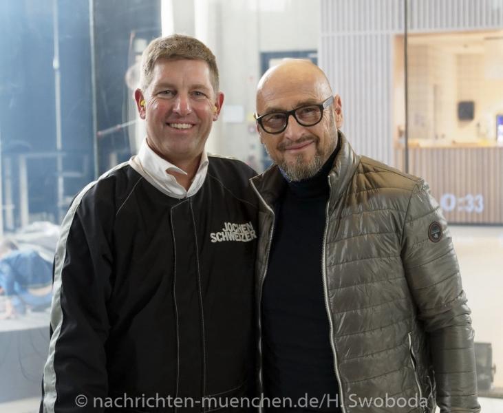 Jochen Schweizer Arena - Pressetag 1000