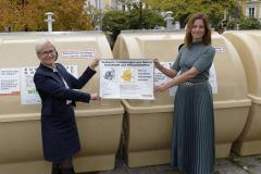 Die Münchner Wertstoffinseln für Verpackungsabfälle