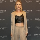 MUNICH, GERMANY - OCTOBER 12: Model Sarah Brandner during the grand opening Roomers & IZAKAYA on October 12, 2017 in Munich, Germany. (Photo by Gisela Schober/Getty Images for Roomers Munich)