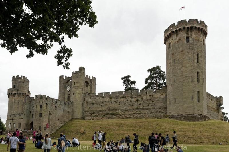 Pressereise - Birmingham - Warwick Castle 0920