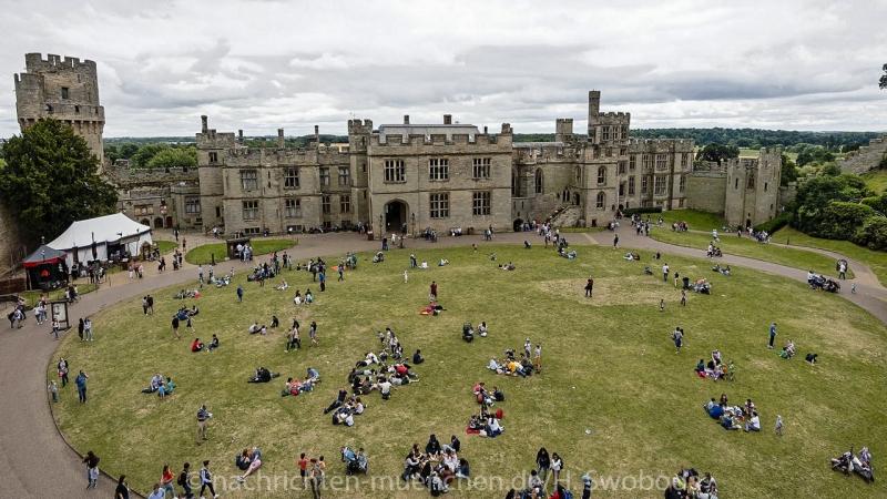 Pressereise - Birmingham - Warwick Castle 0960