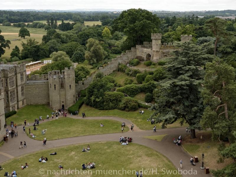 Pressereise - Birmingham - Warwick Castle 0980