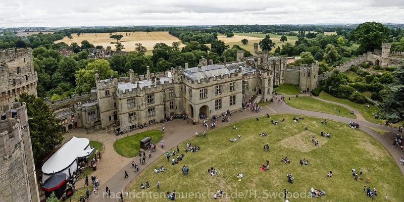 Pressereise - Birmingham - Warwick Castle 0990