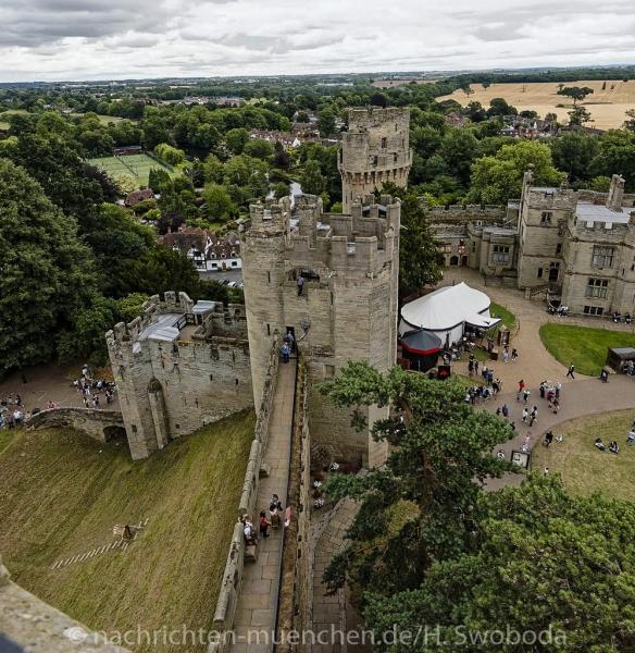Pressereise - Birmingham - Warwick Castle 1000