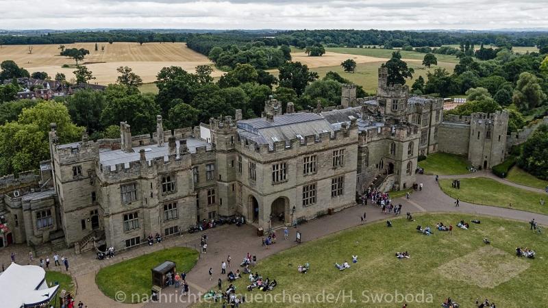 Pressereise - Birmingham - Warwick Castle 1010