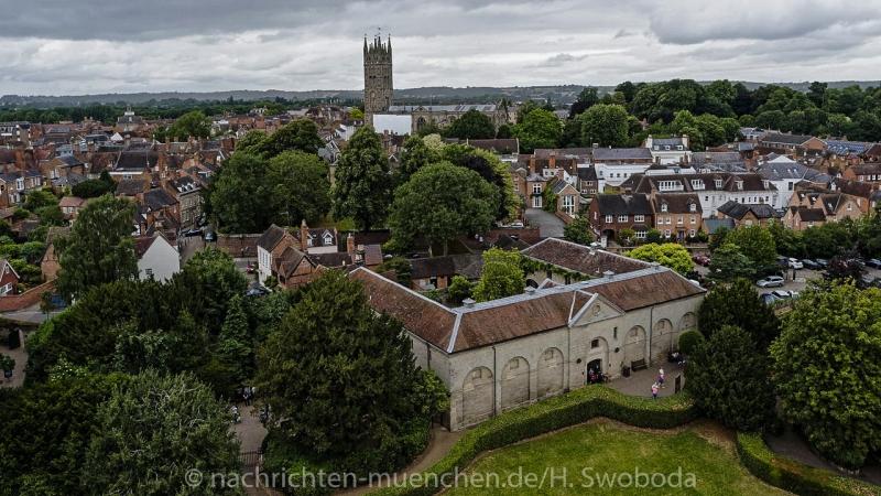 Pressereise - Birmingham - Warwick Castle 1020