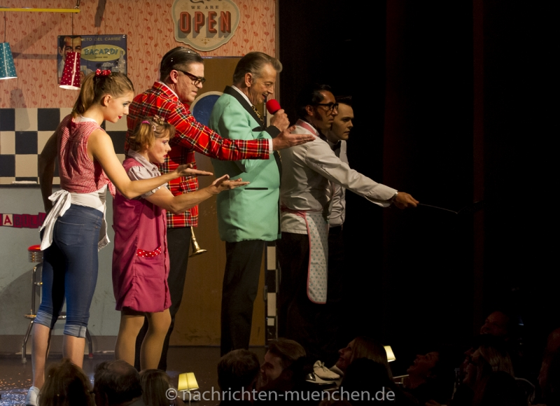 """""""Rockabilly"""" Premiere im GOP Varieté-Theater München"""