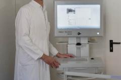 Schlaganfall-Experten mit Heli zum Patienten 0210