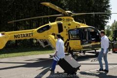 Schlaganfall-Experten mit Heli zum Patienten 0250
