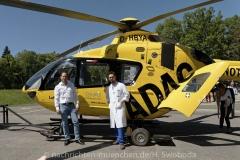 Schlaganfall-Experten mit Heli zum Patienten 0270