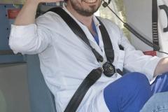 Schlaganfall-Experten mit Heli zum Patienten 0320
