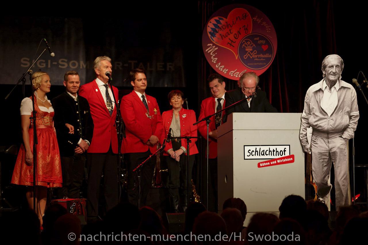 Sigi Sommer Taler 2015 an Hans-Jürgen Buchner