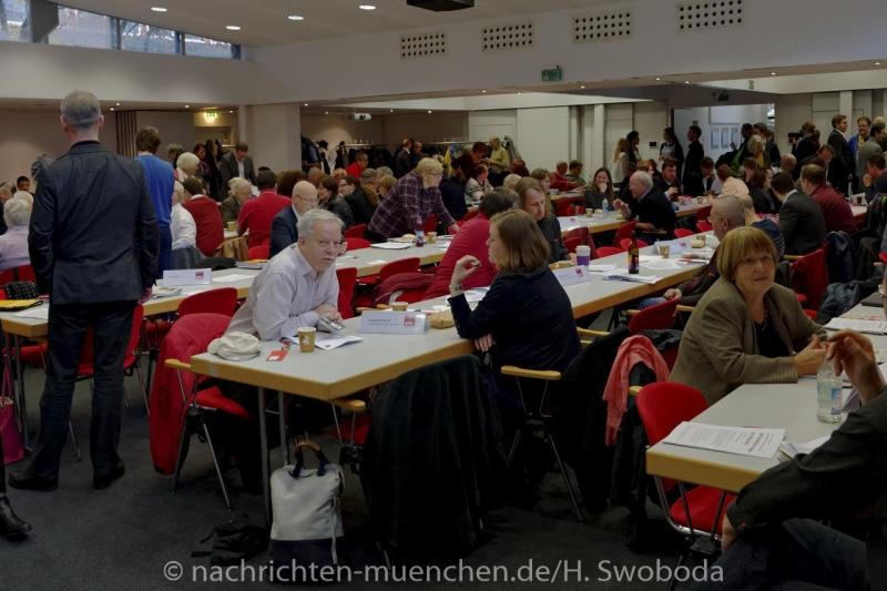 Jahresparteitag der Muenchner SPD 0020