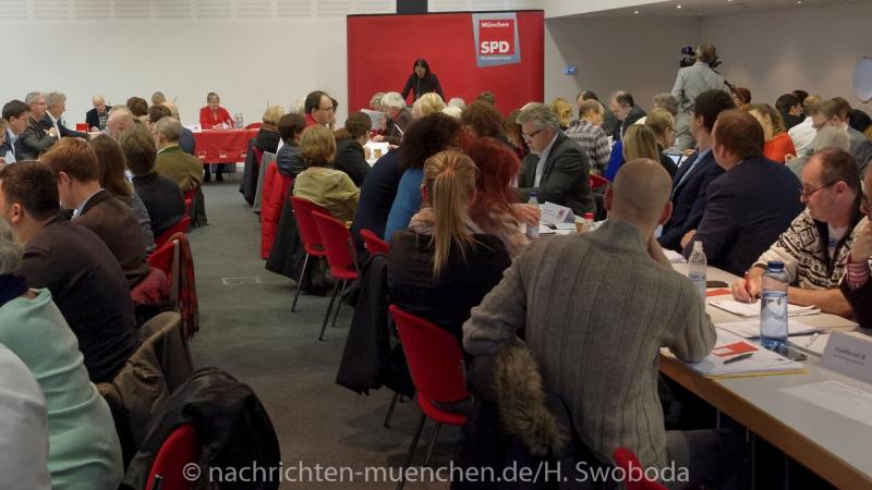 Jahresparteitag der Muenchner SPD 0100