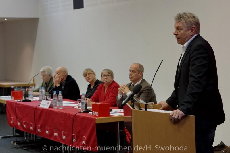 Jahresparteitag der Muenchner SPD 0180