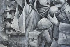StopBombingCivilians-Haushohes-Graffiti-gegen-Bomben-auf-Wohngebiete-eingeweiht-10-von-62
