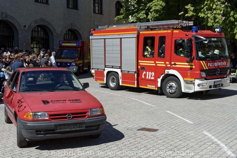Tag der offenen tür 2017  Tag der offenen Tür 2017 bei der Feuerwehr München - Nachrichten ...