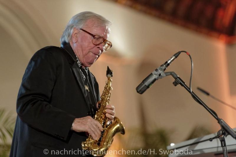 Verleihung Kultureller Ehrenpreis an Klaus Doldinger 0080
