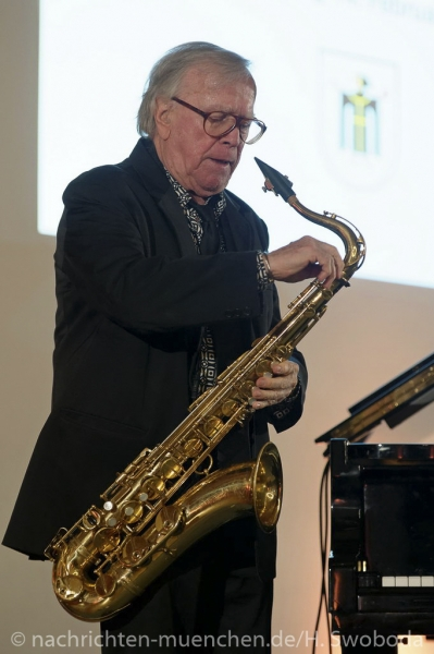Verleihung Kultureller Ehrenpreis an Klaus Doldinger 0100