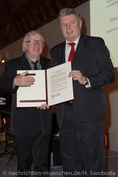 Verleihung Kultureller Ehrenpreis an Klaus Doldinger 0210