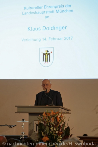 Verleihung Kultureller Ehrenpreis an Klaus Doldinger 0250