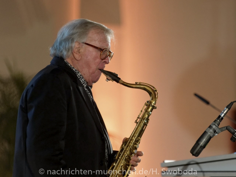 Verleihung Kultureller Ehrenpreis an Klaus Doldinger 0330
