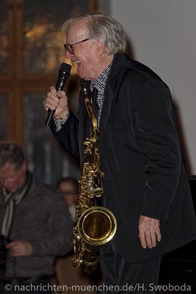 Verleihung Kultureller Ehrenpreis an Klaus Doldinger 0440