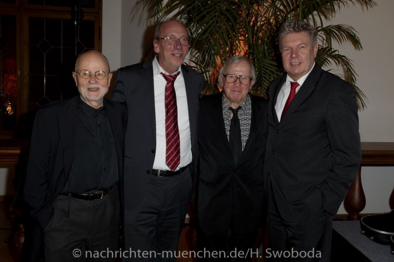 Verleihung Kultureller Ehrenpreis an Klaus Doldinger 0500