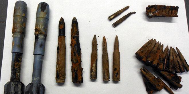 Aufgefundene Munition - Foto: Polizei Bayern