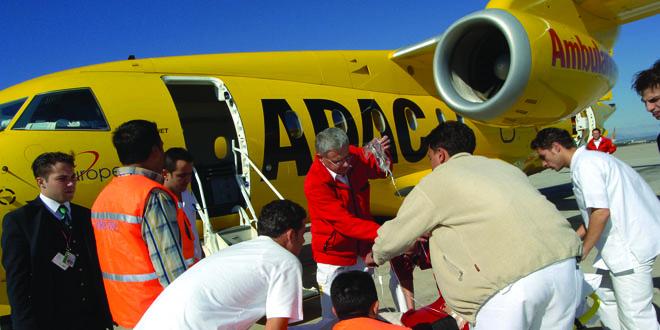 Notarzteinsatz über den Wolken ADAC holt 2014 mehr als 4