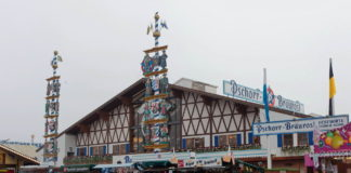 Festhalle Bräurosl auf dem Oktoberfest München