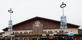Paulaner Festzelt Winzerer Fähndl auf dem Oktoberfest München