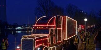 Die Coca-Cola Weihnachtstrucks kommen nach München